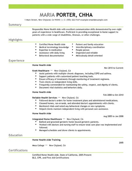 Examples Of Resume Profile Section Profile Section Of Resume Example Rustyflemingconsulting Best Home Health Aide Resume Example Livecareer