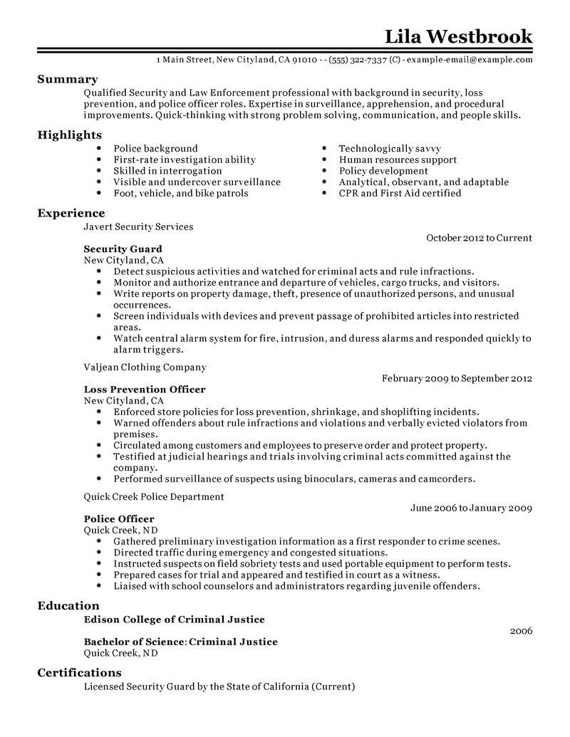 sample police officer resume sample police officer resume makemoney alex tk - Police Officer Sample Resume