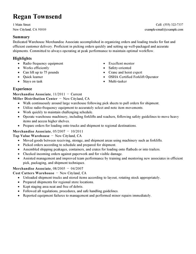 career builder resume title examples