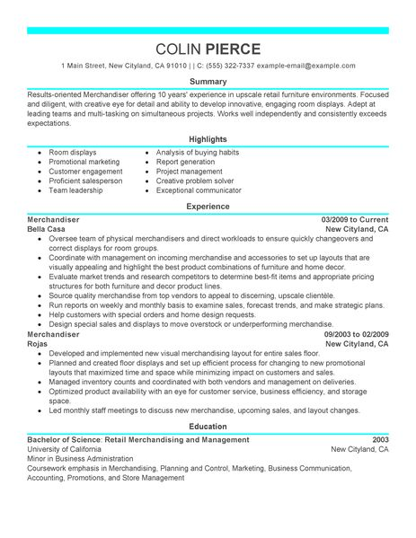 Examples Of A Sales Representative Resume Sales Representative Resume Sample Job Interview Best Merchandiser Retail Representative Part Time Resume