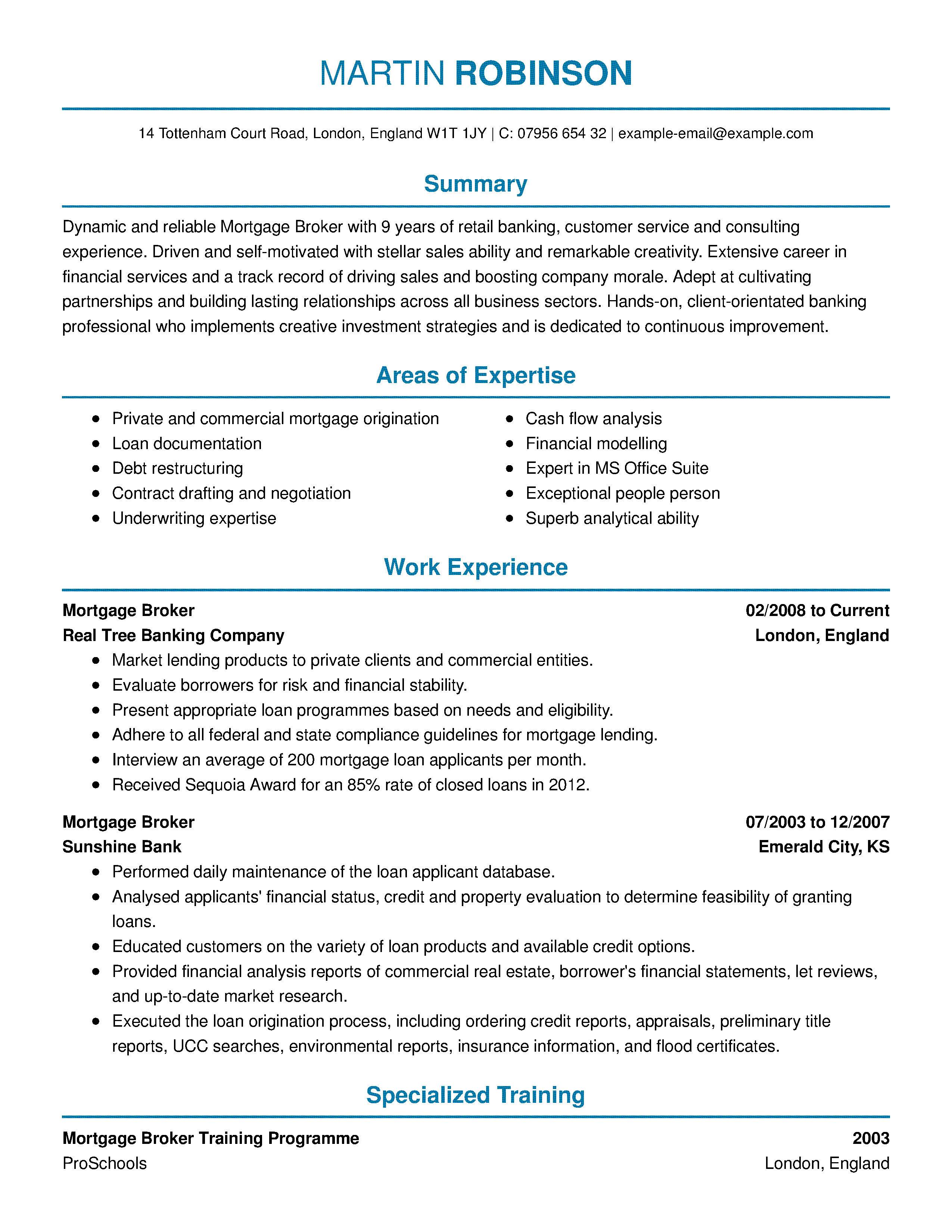 samples where to put my online class on resume