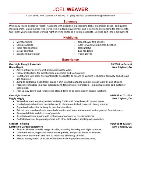 Retail Resume Objective Job Resume Objective Sample - Http - resume examples for jobs with no experience