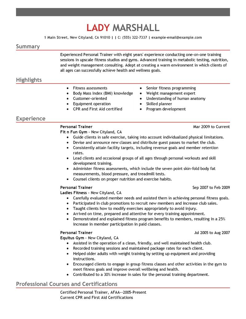 military resume examples sample customer service resume military resume examples sample resume for a military to civilian transition personal trainer resume example wellness