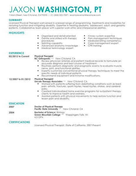 24 amazing medical resume examples livecareer sample it resumes