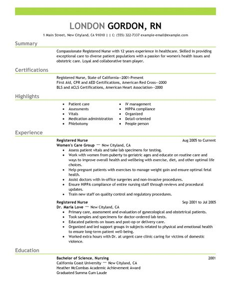 24 Amazing Medical Resume Examples LiveCareer - resume exmaples