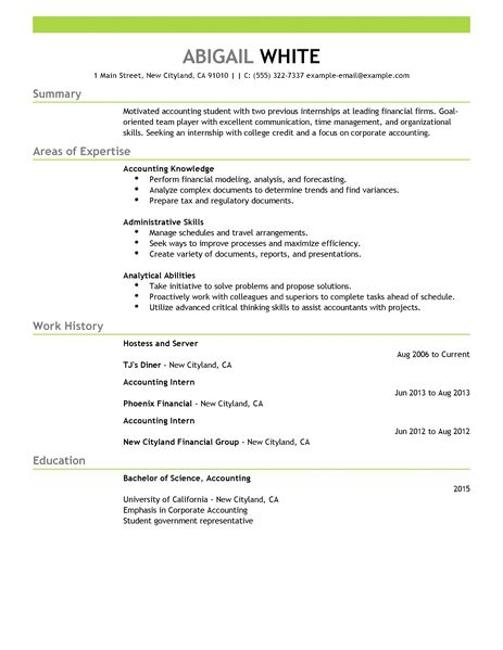 best training internship resume example livecareer internship resumes