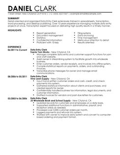 build your own resume the resume builder best data entry clerk resume example livecareer