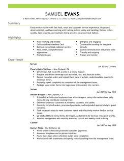 sample bartender resume skills resume samples for job applicants entry level bar staff resume template - Bartending Resume Templates
