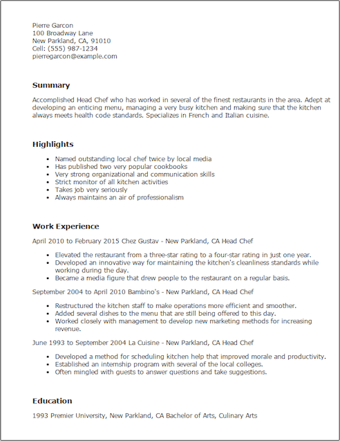Kitchen Steward Cover Letter