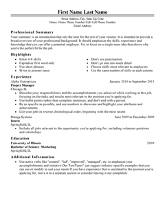 Resume For Students Template College Resume Template For Students And Graduates Free Resume Templates Fast And Easy Livecareer