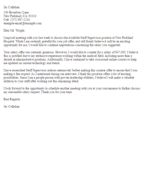 Counter Offer Settlement Letter Insurance Cover Letter Template