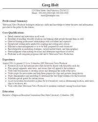 Resume Producer