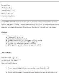 Service Technician Resume Job Resume Sample Tech Resume Resume