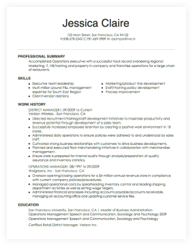 Free Online Resume Builder - by LiveCareer