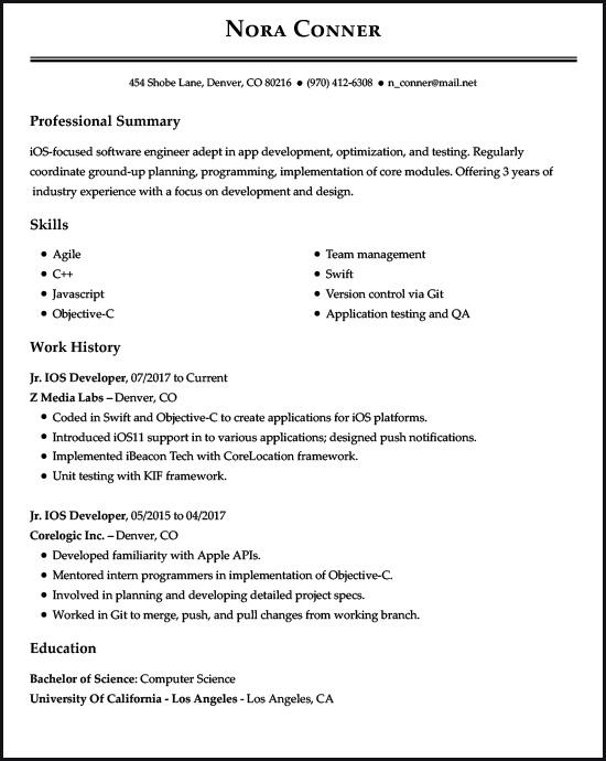 Resume Examples for the Top 5 Gen Z Jobs LiveCareer