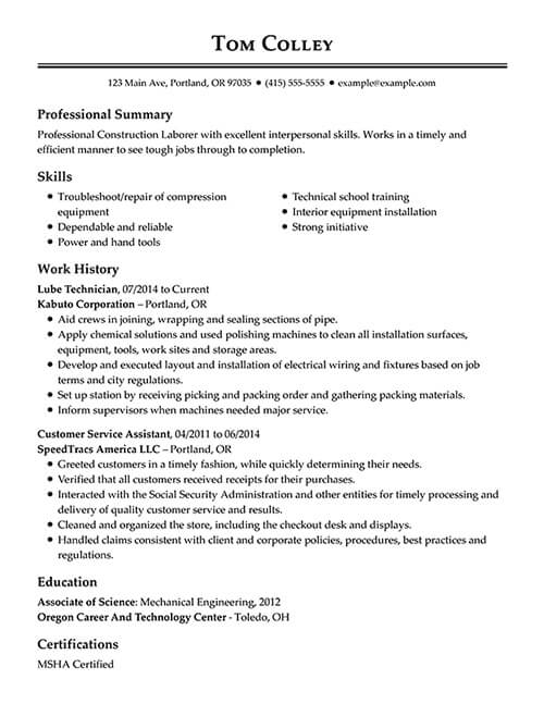 30+ Resume Examples View by Industry  Job Title