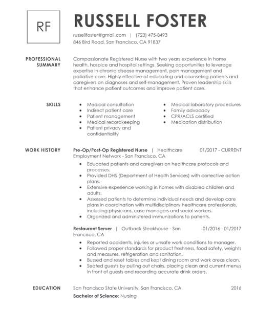 professional or technical skills for resume