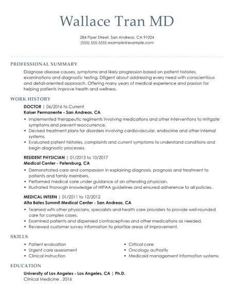 resume templates for software screening