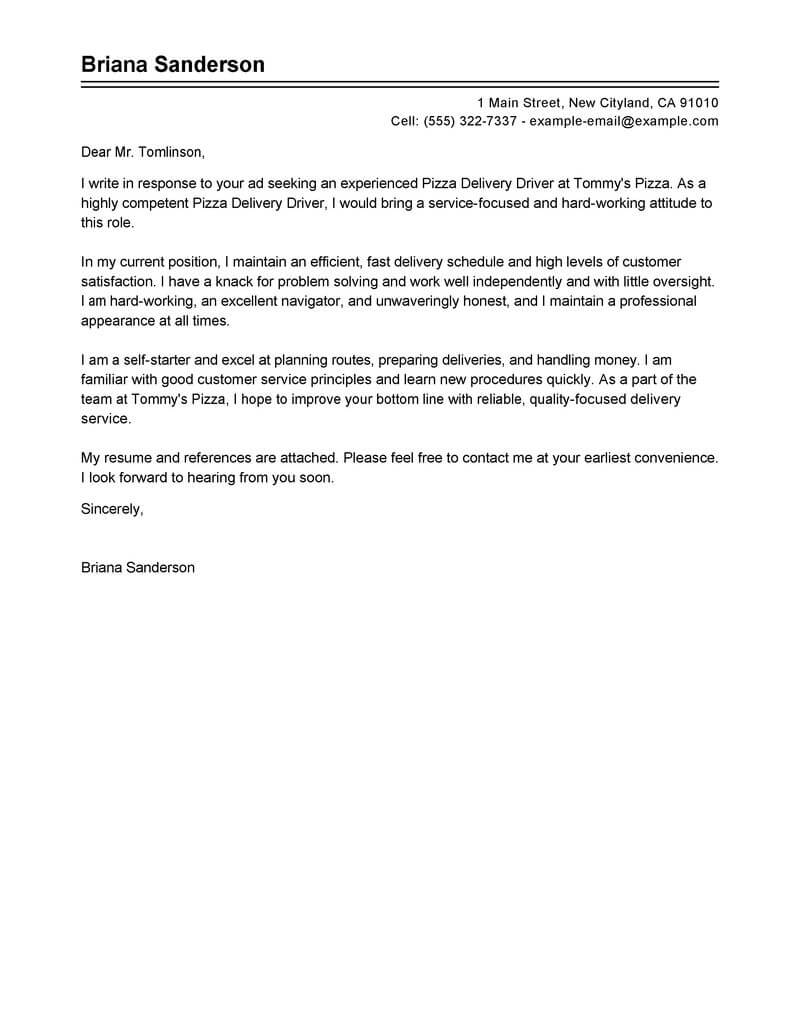 sample formal email to comapny with resume