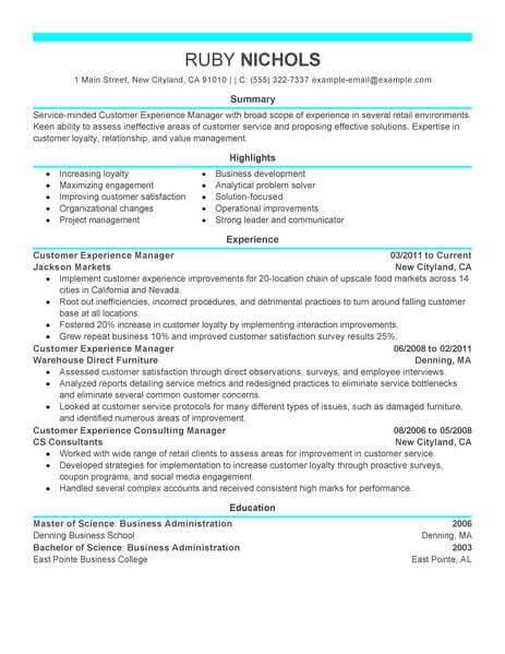 material service coordinator at t resume example