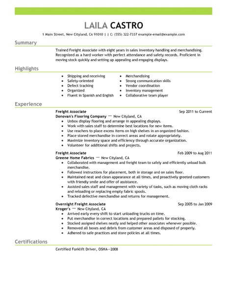 11 Amazing Sales Resume Examples LiveCareer - resume examples for sales