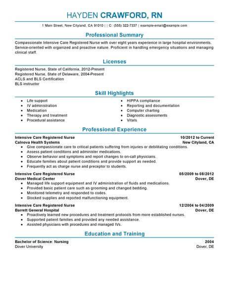 Foot Care Nurse Sample Resume kicksneakers