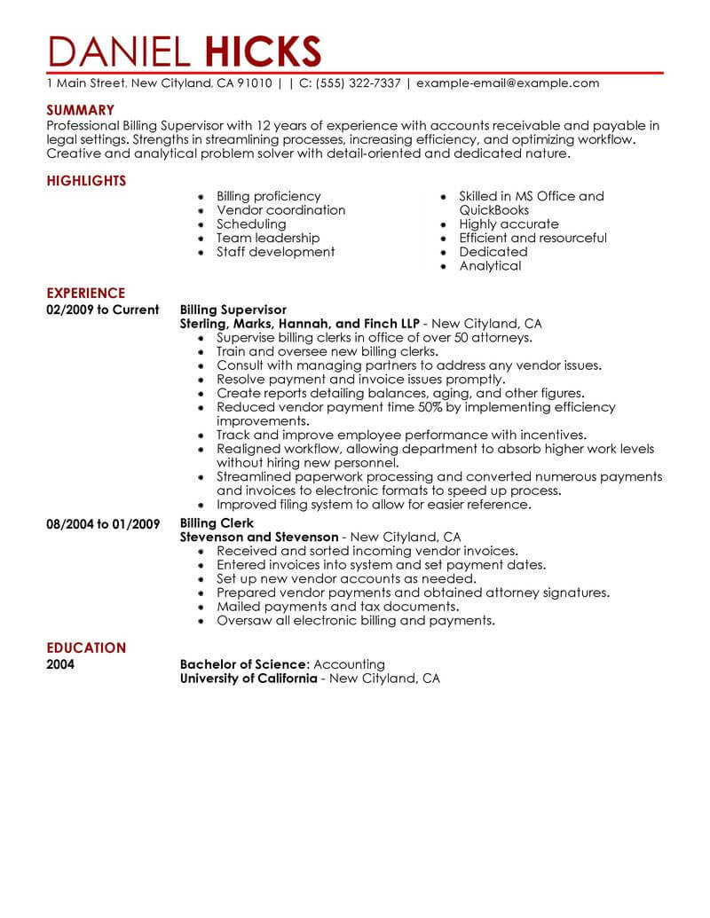 jd graduate resume sample