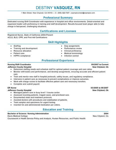 Best Shift Coordinator Resume Example LiveCareer - scheduling coordinator resume sample