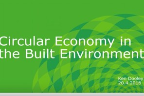 Granlund Energy Seminar, Circular Economy: Sustainability Group Manager Ken Dooley