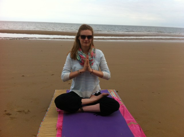 Yoga on Walton Beach