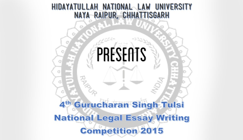 4th Gurucharan Singh Tulsi National Legal Essay Writing Competition