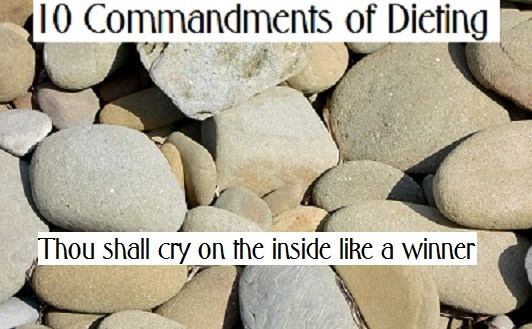 10 commandments of dieting