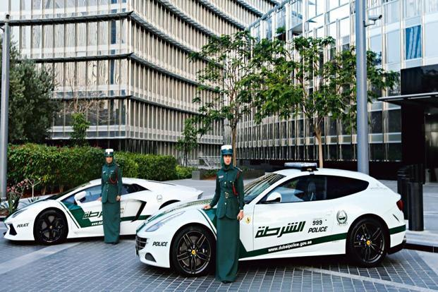 Dubai Police Car Wallpapers Dubai S Swanky Police Squad Cars Livemint