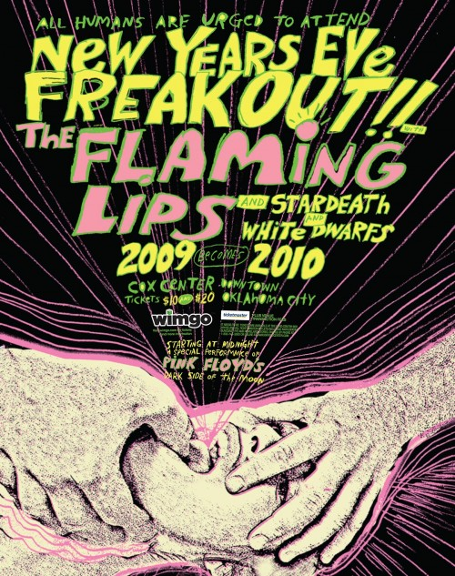2009-FLAMING-LIPS-NYE-POSTER