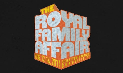 Royal Family Affair 2011 Schedule