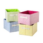 Gingham Storage Bins