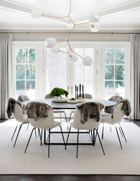 This Hamptons designer has a knack for neutral palettes, extraordinary textiles, and art that (bless her!) has a sense of humor.