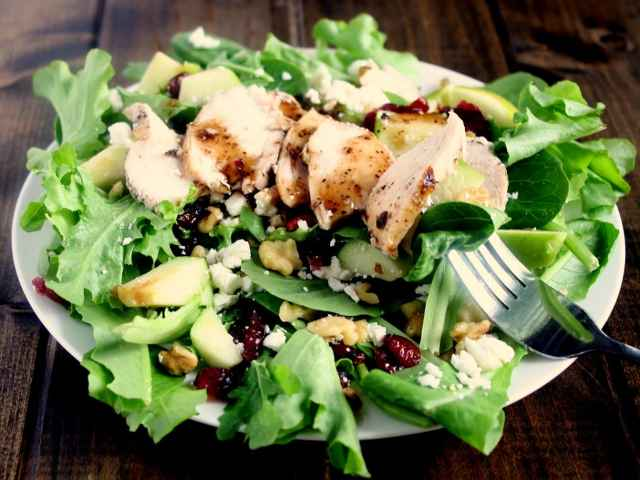 ... chicken salad recipe key ingredient cranberry walnut chicken salad