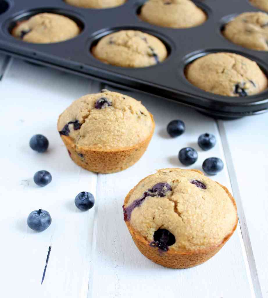 Whole Wheat Blueberry Muffin