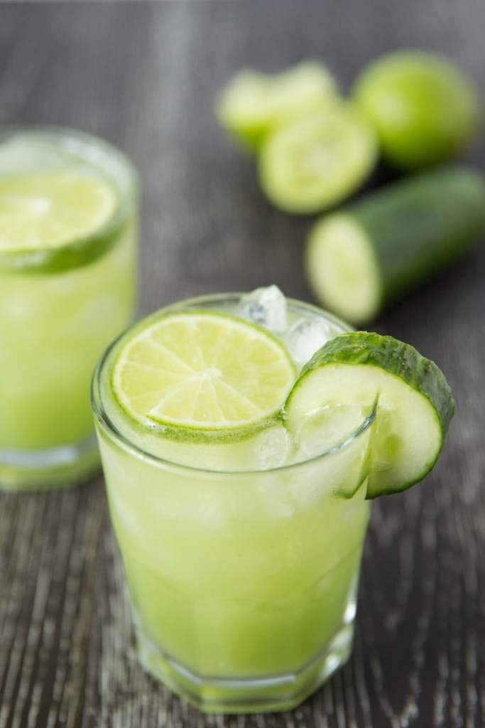 Cucumber Lime Margaritas