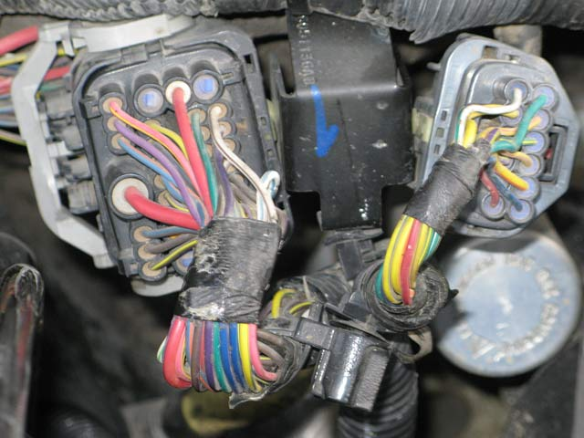2004 dodge pick up alternator wiring