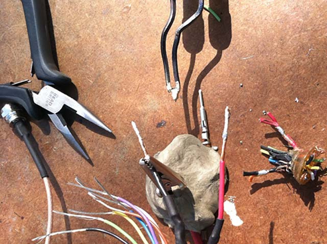 How to Rewire and Repair MotoSat D3 9-pin Control Cable Plug