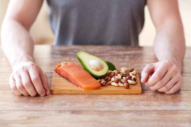 Avocado and nuts are great for 'good fats'