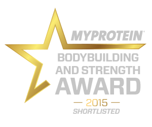 MyProtein Fitness Blogger Award