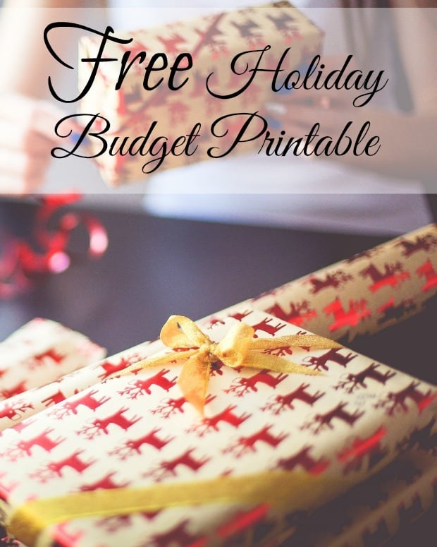 Get More Holiday Savings With This Free Holiday Budget Printable - help me budget my money for free