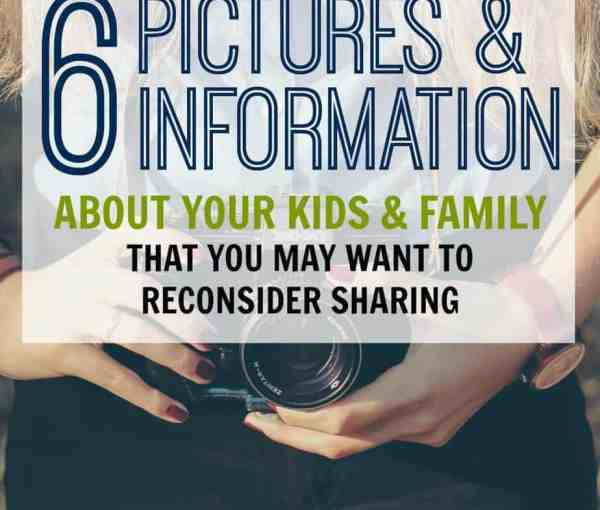 Unsafe Information About Your Kids You May Be Posting Online Without Knowing It