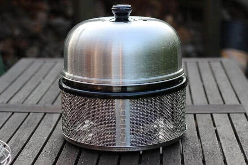 grilltest unboxing cobb premier tischgrill von cobb grill. Black Bedroom Furniture Sets. Home Design Ideas