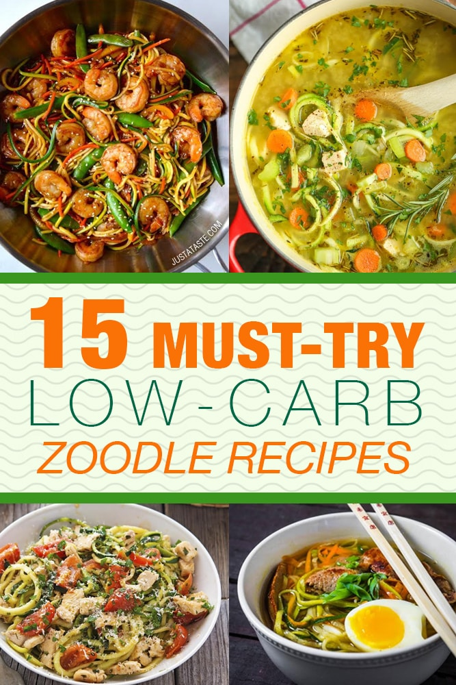 15 must try low carb zoodle recipes