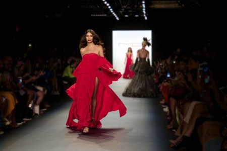Michael Costello, 2017 fashion collection, Spring/Summer, NYFW,, Mao pubicity