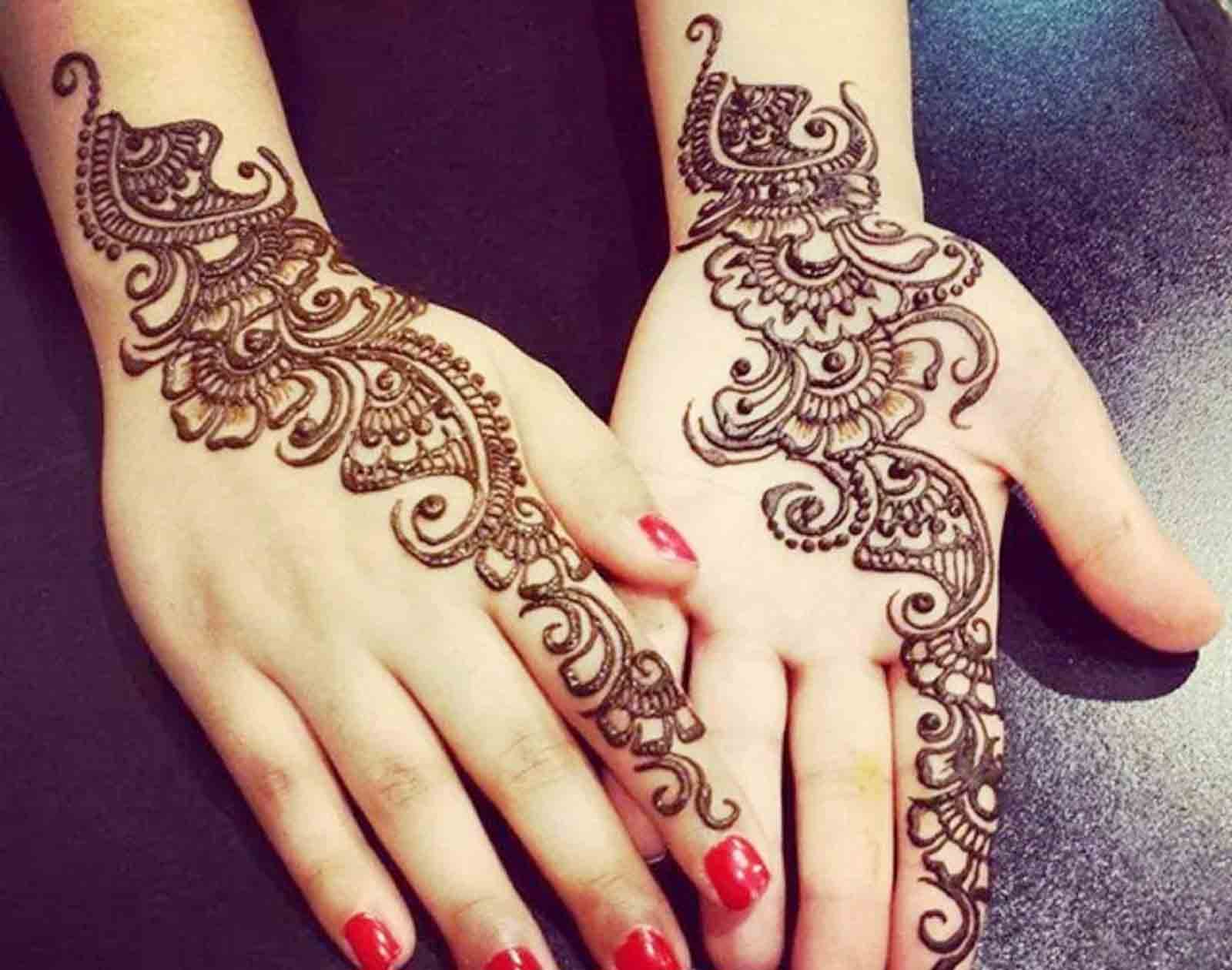 Decorative arabic mehandi designs